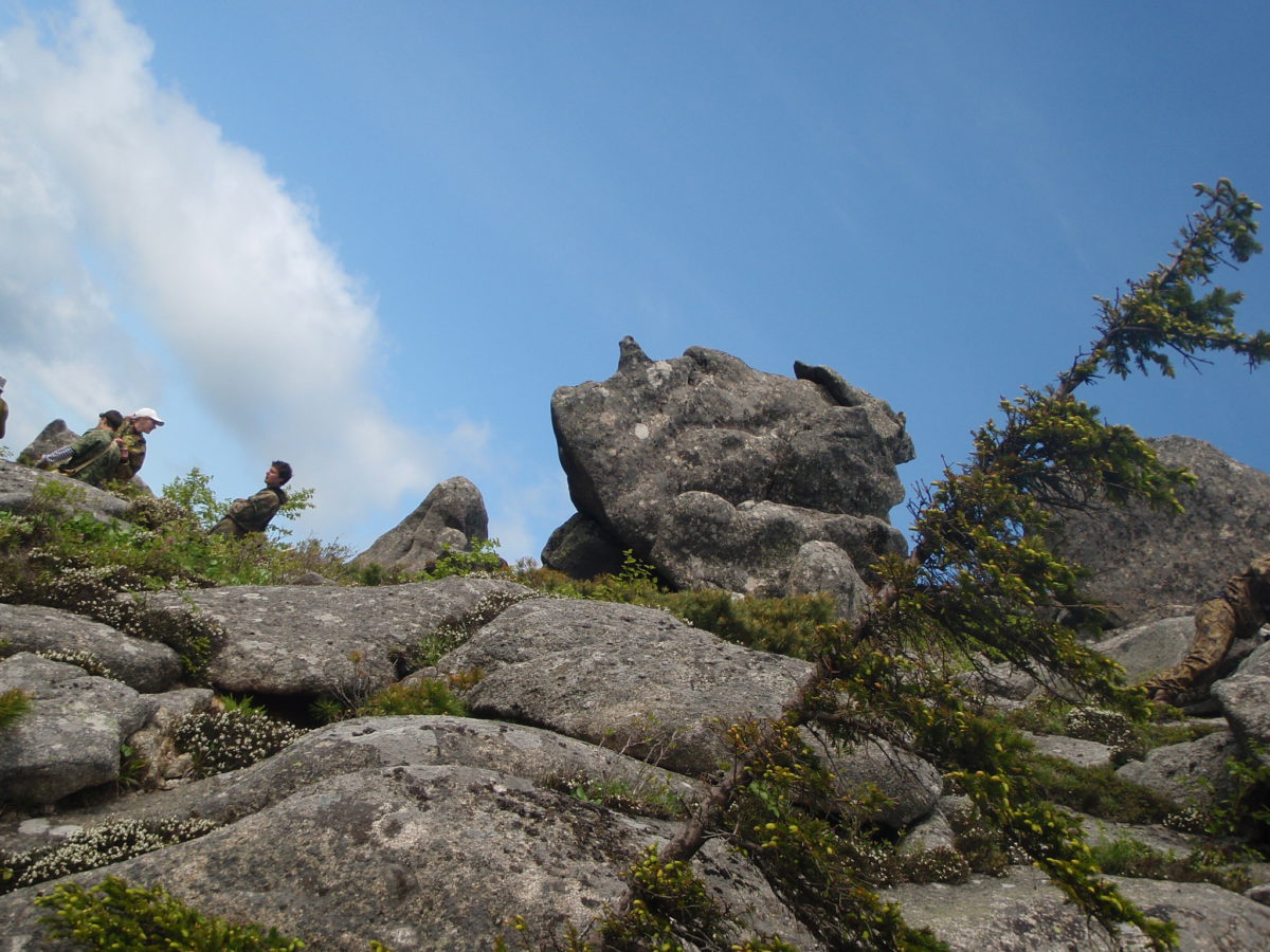 Голова на горе Сестра. фото К.Бовтика